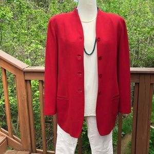 Vintage Emanuel Ungaro long line blazer size 14